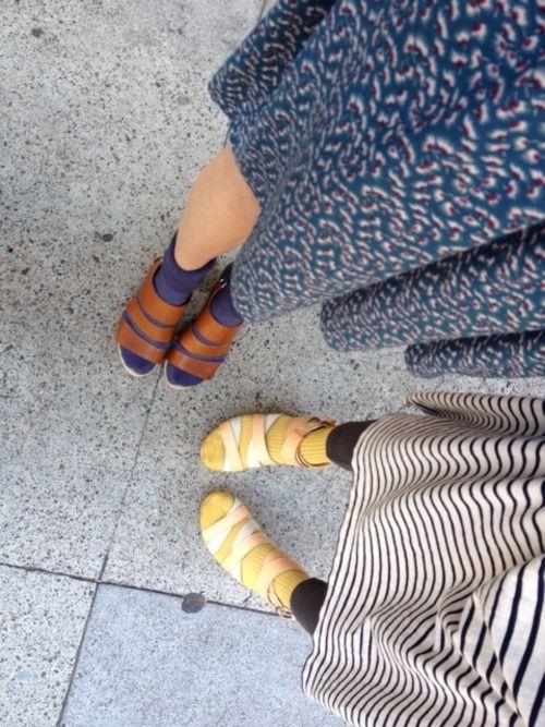 hansel from basel socks + rag & bone shoes