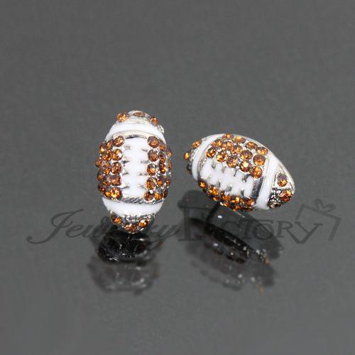 Football Stud Earrings