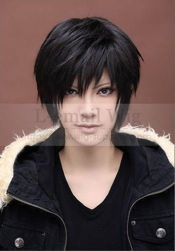 Marvelous Short Hair Wigs Durarara And Wigs On Pinterest Hairstyle Inspiration Daily Dogsangcom