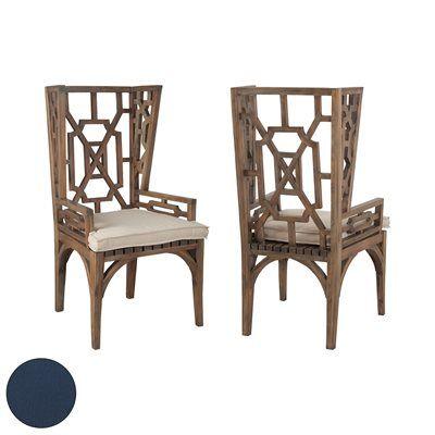 Teak Wingback Chair Cushion Dining Chair Cushions Chair Cushions Teak Wood Side Table