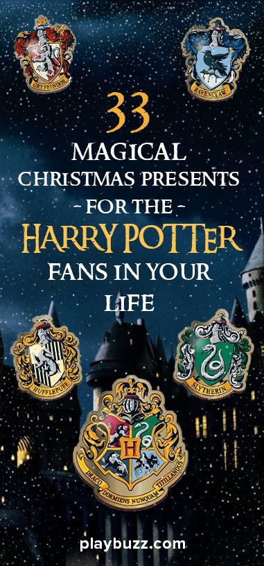 33 magical christmas presents for the harry potter fans in for Harry potter christmas present ideas