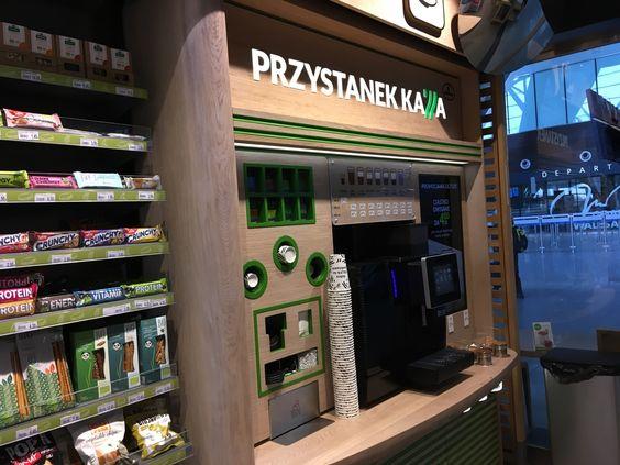 Станция кофе, как подписан автомат