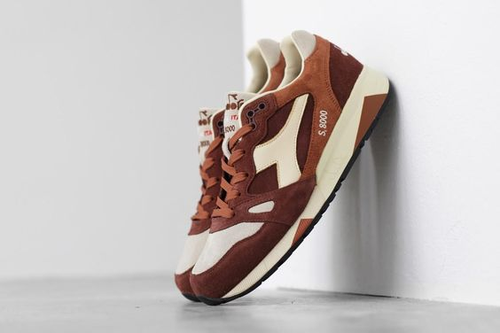 "Diadora S.8000 ""Brown Mushroom"" (Made in Italy)"