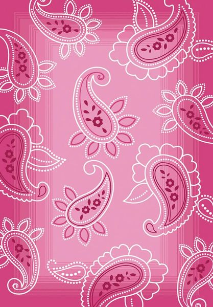 3665.88.54, Pink, Machine Made, Central Oriental, Paisley available from rugsdoneright.com $159.00