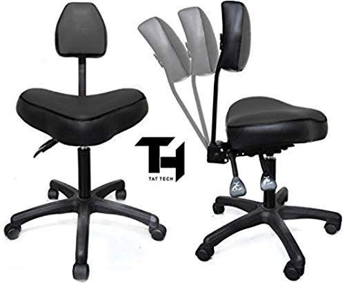 The Perfect Tat Tech Ergonomic Tattoo Stool Black Beauty 139 99 Trendytoppro From Top Store Ergonomic Stool Chair