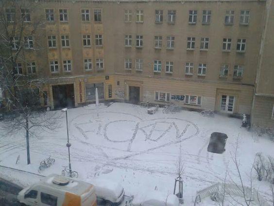 süßes Liebesgeständnis in Berlin