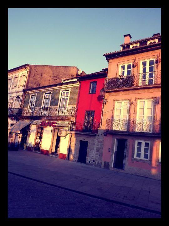 Houses in Ponte de Lima, Portugal