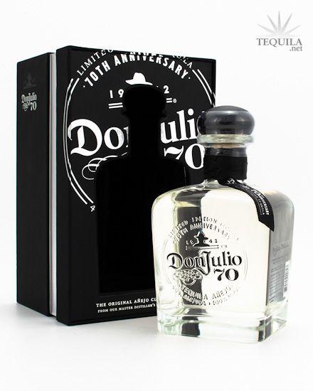 Don Julio 70 Tequila Anejo Claro Suuuper recomendable!!  menos calorías y menos cruda!