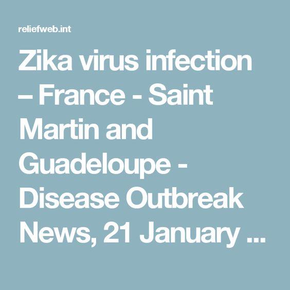 Les touristes sont conseillé d'être prudent de voyager vers les Caraïbes en raison de l'épidémie Zika. Il y a eu des cas en Guadeloupe et en Martinique. Vous voyagez à vos risques et périls.