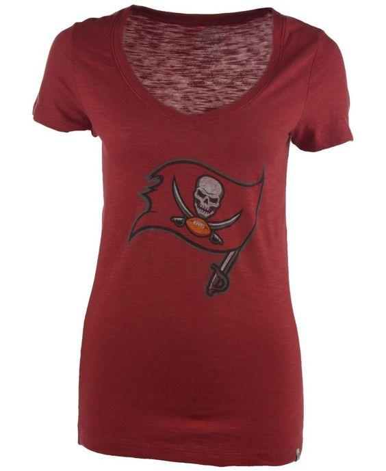 '47 Brand Women's Tampa Bay Buccaneers Scrum T-Shirt