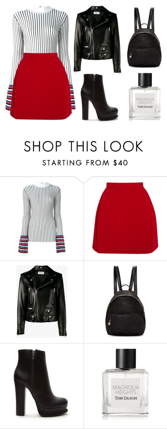 """""""Going to college next week"""" by anasimoes99 ❤ liked on Polyvore featuring Emilio Pucci, Delpozo, Yves Saint Laurent, STELLA McCARTNEY, Forever 21 and Tom Daxon"""