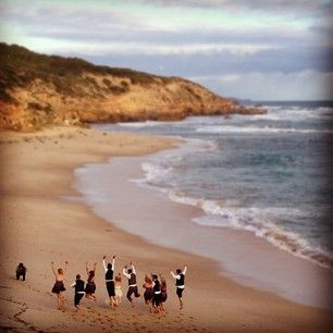 Beach wedding at Sorrento