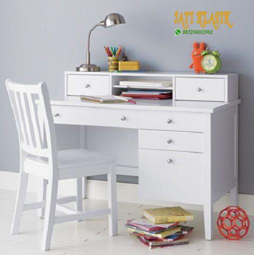 Jepara Teak Study Table Sets Minimalist Study Table Sets Set