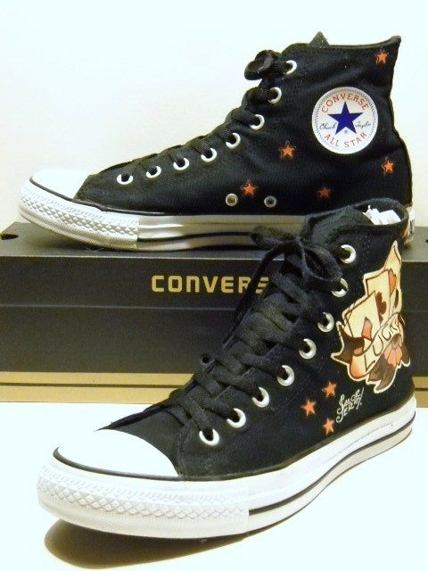 Sailor Jerry Chucks  These were my