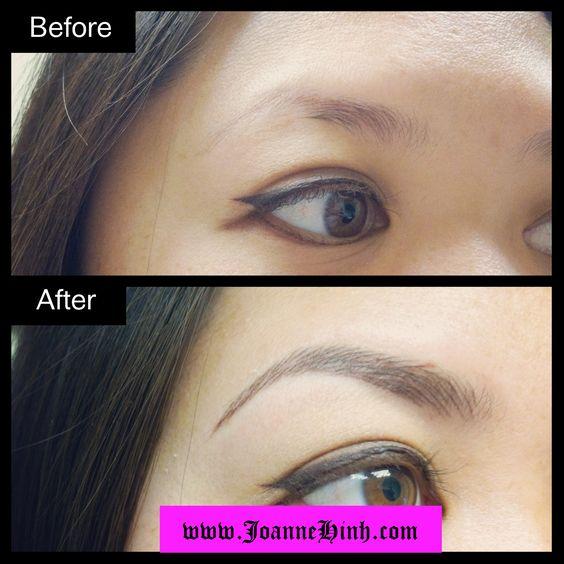 Permanent makeup eyebrows near me makeup vidalondon for Semi permanent tattoo near me