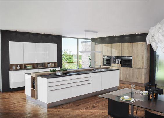 Einbauküche Kūchen \ Einrichtungsideen Pinterest - moderne einbaukuche tipps funktionelle gestaltung