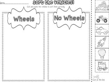 A Transportation Unit: Things that Go | Activities, Transportation ...