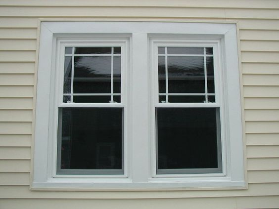 Prairie grid style vinyl replacement windows ideas for for House window replacement