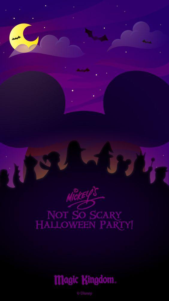 Walt Disney World Halloween cell phone wallpapers