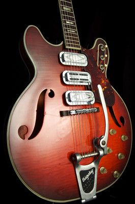 RARE Vintage Silvertone 1485 Double Cutaway Guitar Black Keys GRLC969  