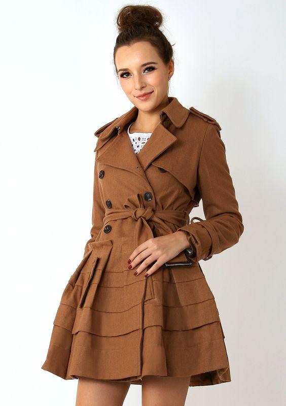 peplum coat!