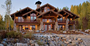 Pend d'Oreille Residence - one last one from Sayler...love the mountain ridge roofline