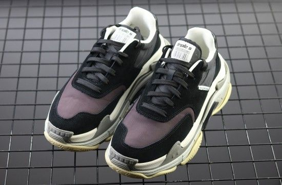 Balenciaga Triple S 2.0 Trainer Black Burgundy