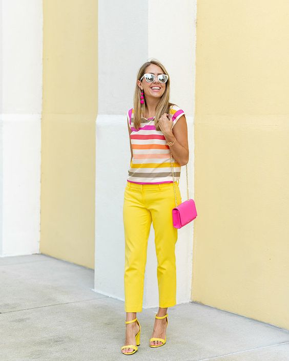 Sexy Colorful Pants