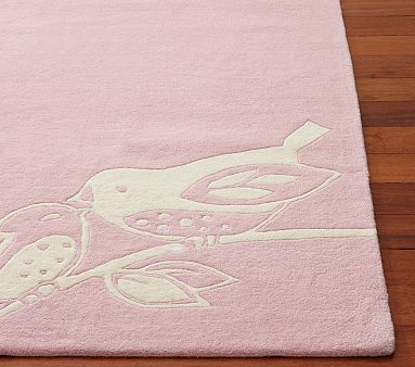 Great Pink Bird Rug Lg S Pin It To Win Contest Nursery For