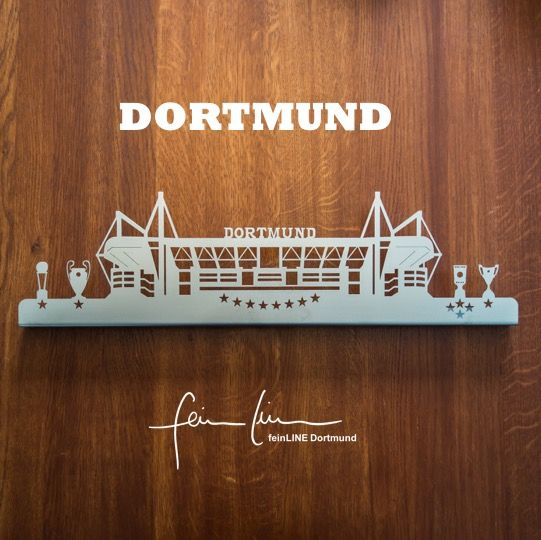 Stadion Dortmund Edelstahl