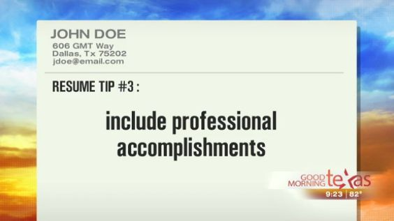 Resume Tips to Help Get You Hired wfaa Dallas - Fort Worth - resumes that get you hired