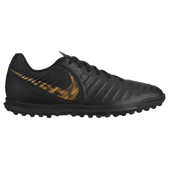Chuteira Society Nike Tiempo Legend 7 Club TF Preto e