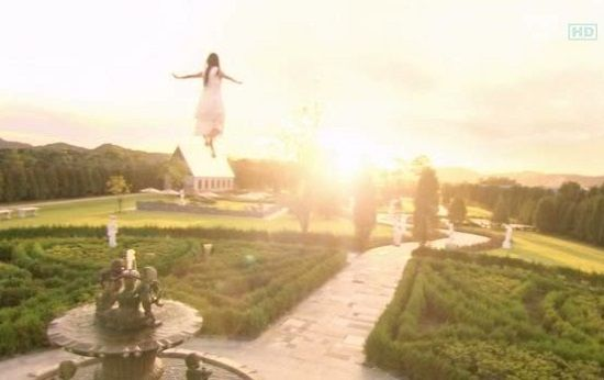 Một cảnh trong bộ phim Cô nàng đẹp trai được quay ở vườn bách thảo