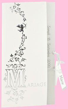 Faire-part mariage réf. J541 chez monFairePart.com