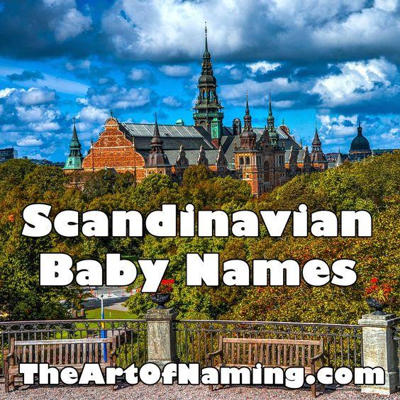 The Art of Naming: World-Wide Wednesday: Scandinavian Baby Names