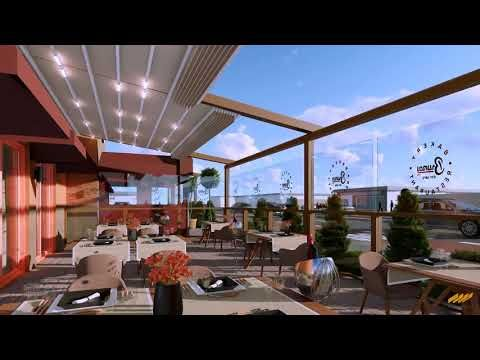 High End Retractable Motorized Pergola Awning Systems Gazebo Canopy Tent Screen Blind Sliding Glass Doors At Affordable P Pergola Outdoor Bbq Area Gazebo