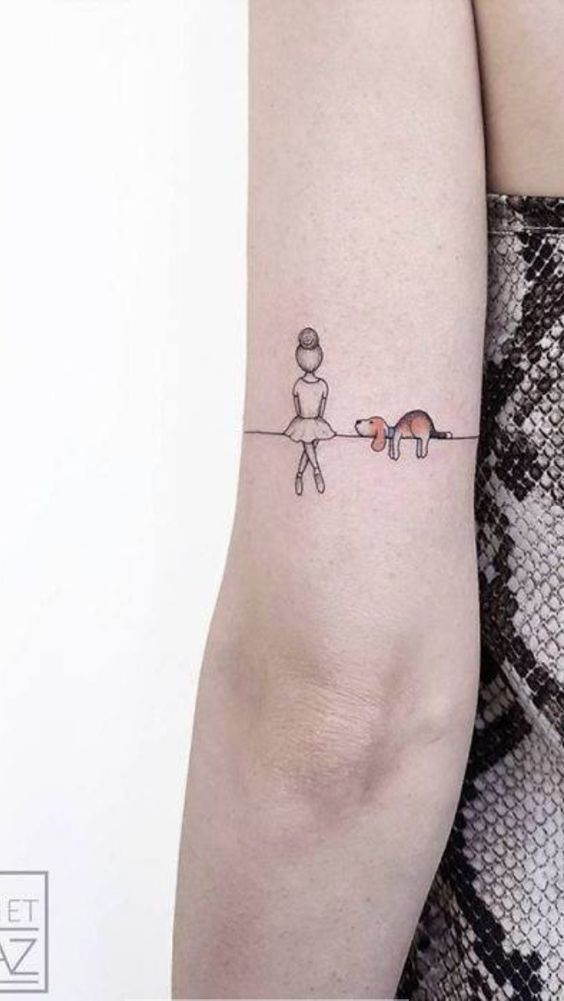 25 Cute Beagle Tattoo Ideas And Designs Beagle Tattoo Dog