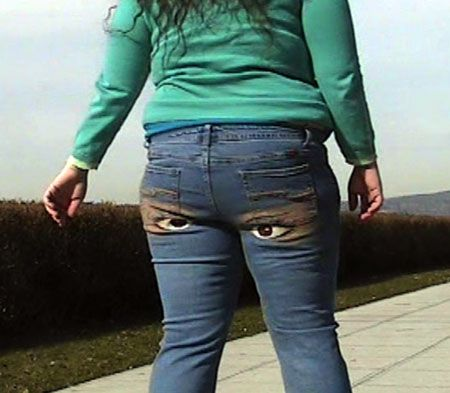 Winkers: the jeans that wink atyou