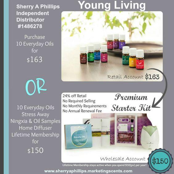 Young Living Essential Oils - Premium Starter Kit #Health #wellness #natural  http://sherryaphillips.marketingscents.com