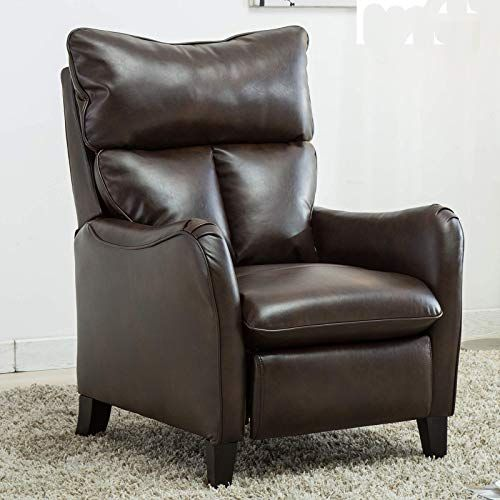 Enjoy Exclusive For Canmov Leather Recliner Chair Single Modern Push Back Home Theater Seating Living Room Brown02 Online Chicprettygoods In 2020 Modern Recliner Chairs Recliner Chair Leather Recliner