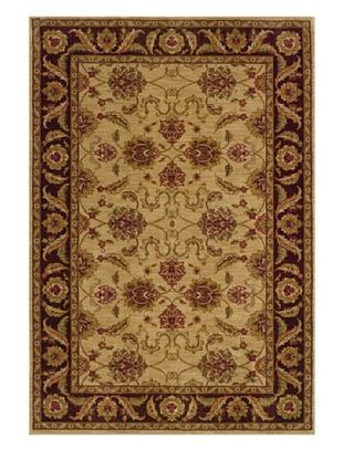 Granville Rugs Tuscany Rug (Beige/Red/Green/Gold)