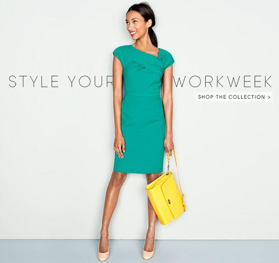 yellow dress blue shoes marketing