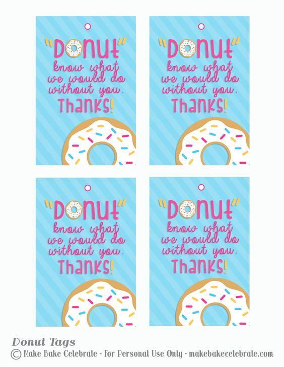 dunkin donuts gift card teacher tags - Google Search ...