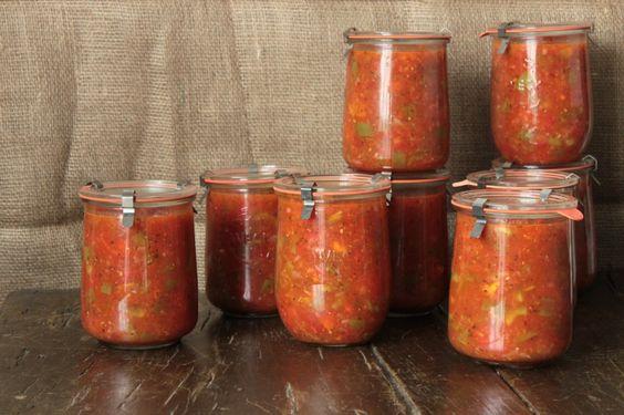 spaghettisaus wecken inmaken tomaten