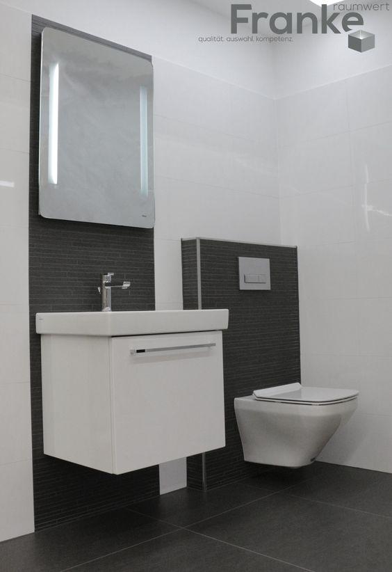Das Gäste-WC mit WC und Urinal wird beiden Geschlechtern - wc fliesen beige