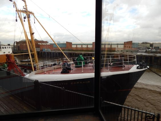 Research into boats at the Transport Museum Hull.