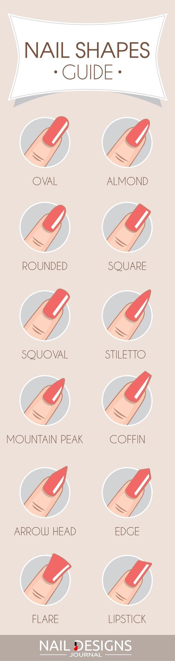 Most Popular and Trendy Nails Shapes for Glamorous Look | Shapes ...