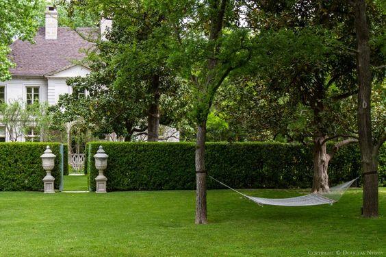 Maurice Fatio Designed Significant Home - Landscape outside of Dallas Estate Property