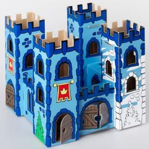 Castillo con cajas de cart n arte medieval pinterest - Manualidades castillo medieval ...