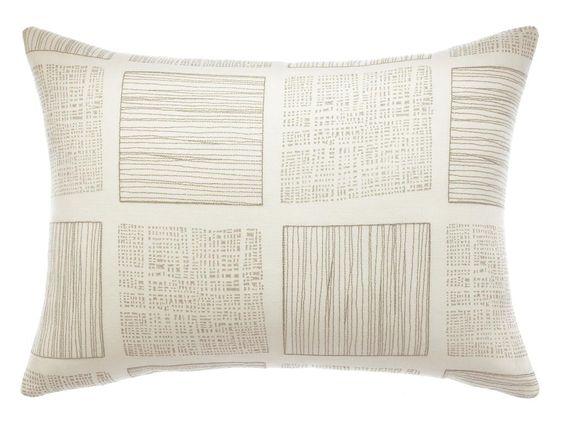 """Curated Kravet Templin Pillow, 16"""" X 22"""""""